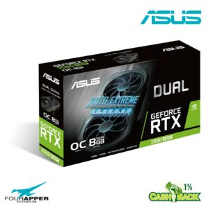 ASUS Dual GeForce RTX 2080 SUPER EVO OC edition 8GB box