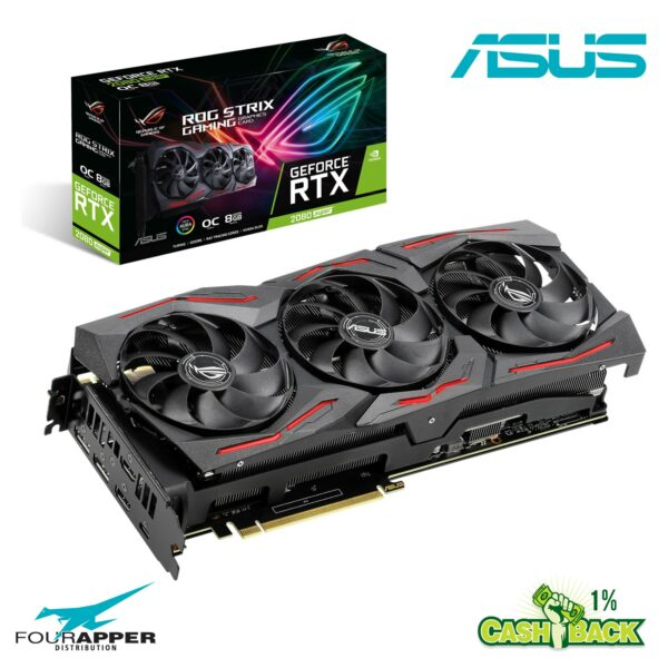 Asus GeForce RTX 2080 SUPER 8GB ROG STRIX OC GAMING