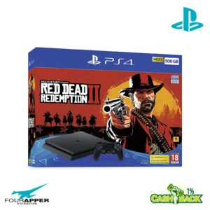 (PS4) Slim 500GB + Red Dead Redemption 2
