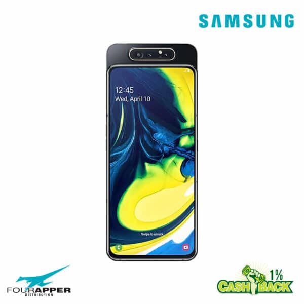 galaxy a80 black front